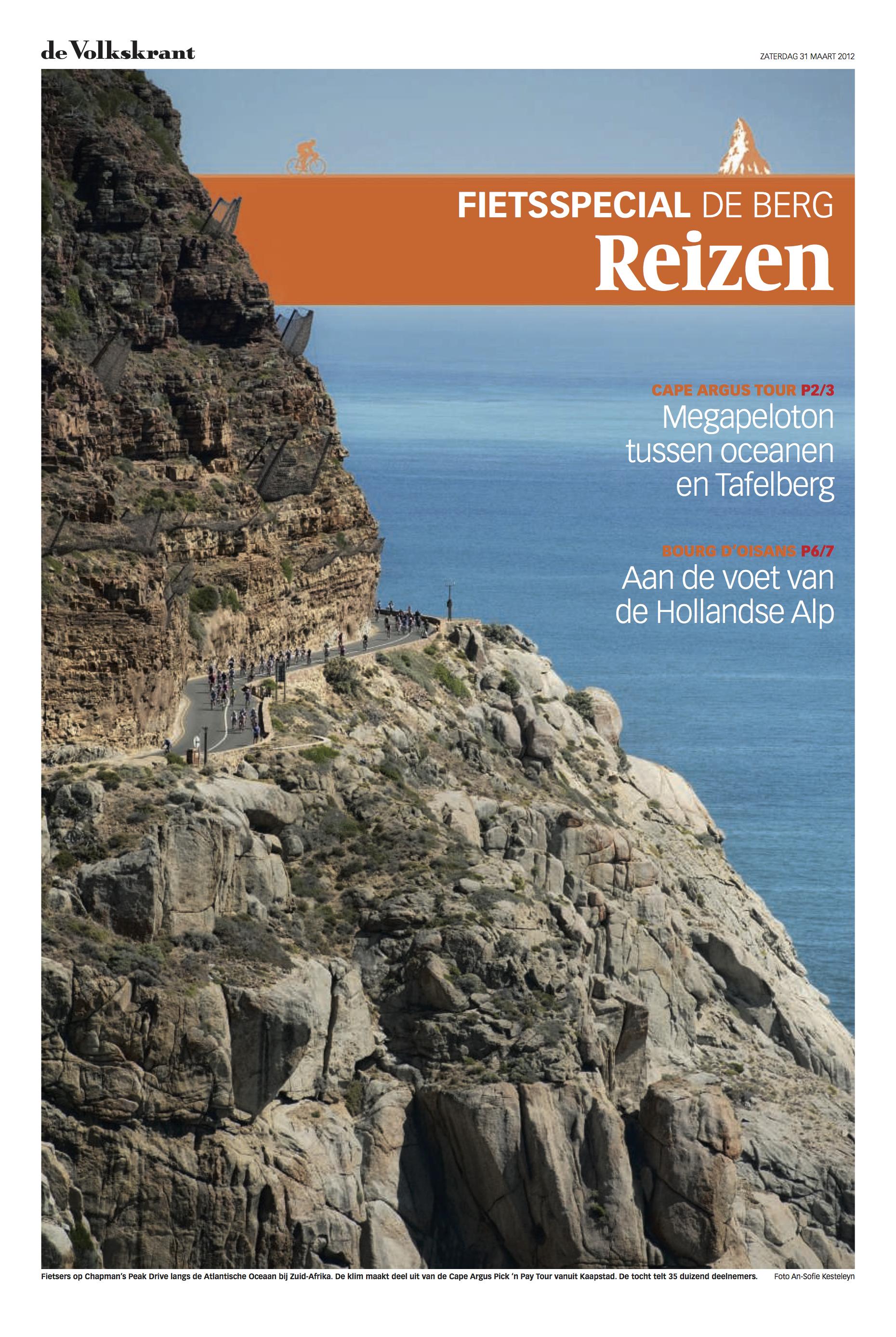 Cape Argus Verslag Volkskrant - blz 1